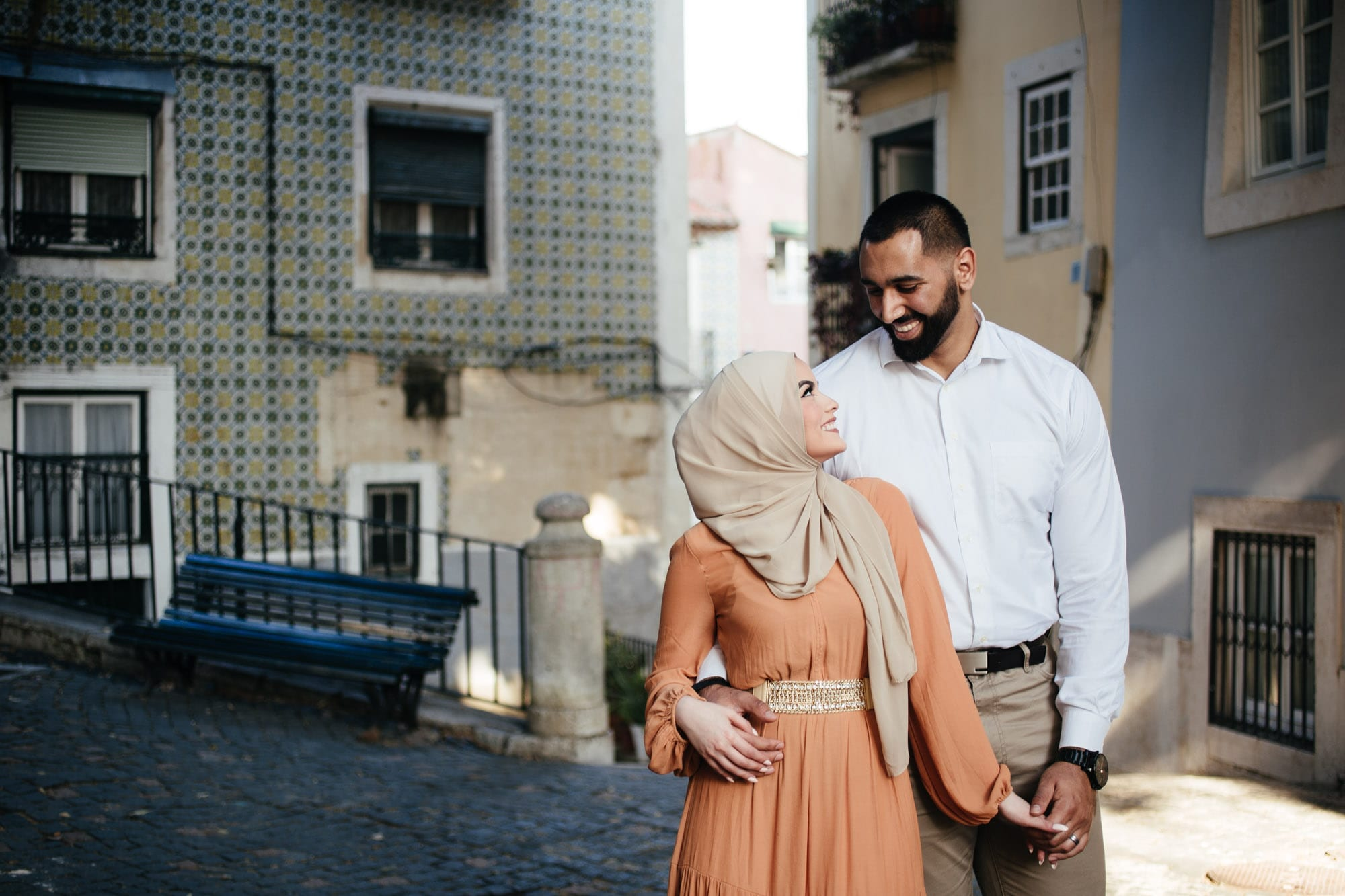 Omaya, Mouhammad and Suhaila: Vacation Photo Shoot in Lisbon