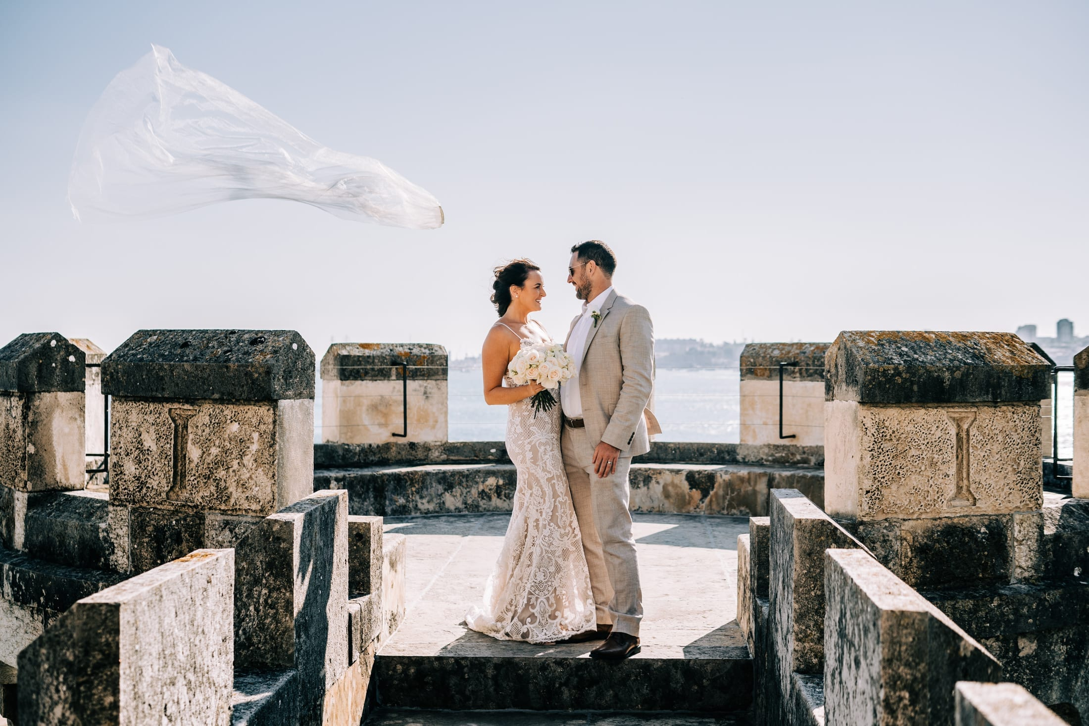 destination wedding in Forte da Cruz, Estoril